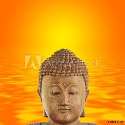 Naklejka samoprzylepna pokój buddy