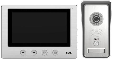Wideodomofon eura vdp-33a3 luna ekran 7, obsługa 2-ch wejść,pamięc obrazów, brelok zbliżeniowy - szybka dostawa lub możliwość odbioru w 39 miastach