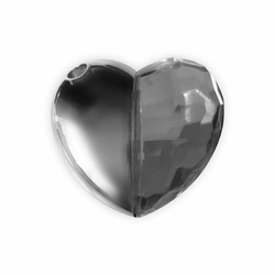 Zakochany Pendrive - Srebrne Serce