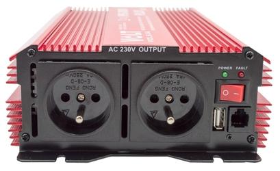 Przetwornica napięcia prądu ips-3000 plus 24v230v 17003000w volt polska