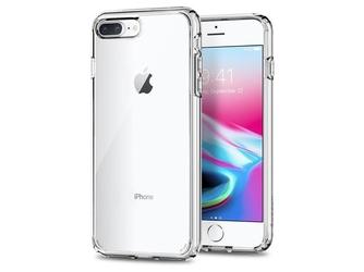 Etui spigen ultra hybrid 2 iphone 78 plus crystal clear - przezroczysty