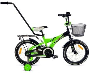 Rower mexller bmx-16 czarno-zielony