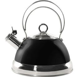 Czajnik klasyczny z gwizdkiem czarny Wesco 2 Litry 340520-62