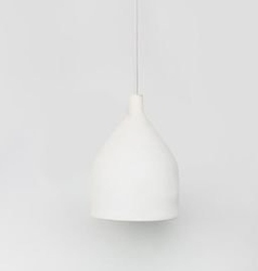 Urban nature culture :: lampa wisząca kamionkowa trancoso biała śr. 14,5 cm
