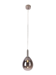 Lampa wisząca lukka srebrny - srebrny