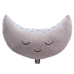 Nakładka - poduszka na pas bezpieczeństwa księżyc grey, 4+, benbat