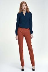 Rude spodnie eleganckie z kantem
