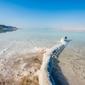 Morze martwe - plakat premium wymiar do wyboru: 100x70 cm