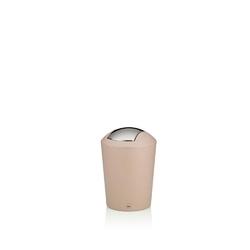 Kela - marta - kosz na śmieci łazienkowy, 1,7 l, różowy - różowy