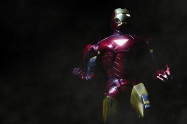 Iron man 2 mark vi ver1 - plakat wymiar do wyboru: 100x70 cm