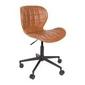 Zuiver :: krzesło biurowe omg ll brązowe