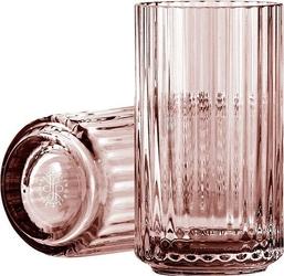 Wazon lyngby szklany burgundy 12 cm