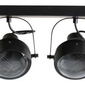 Woood :: spotlight lester metalowy czarny