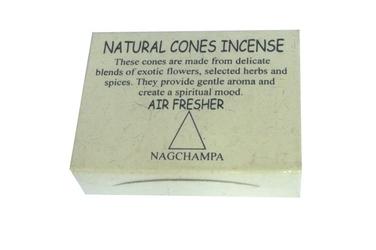 Nagchampa cones - nag champa
