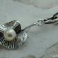 Lilia - srebrny wisiorek z perłą