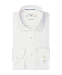 Biała koszula z dzianiny profuomo sky blue 37