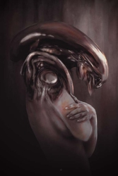 Alien - plakat premium wymiar do wyboru: 29,7x42 cm
