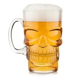 kufel do piwa czaszka 700 ml