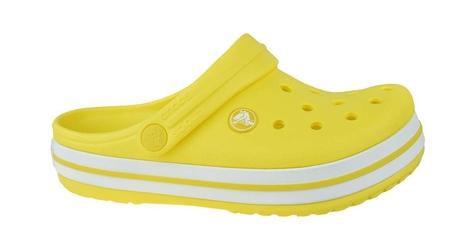 Crocs crocband clog k 204537-7c1 2829 żółty