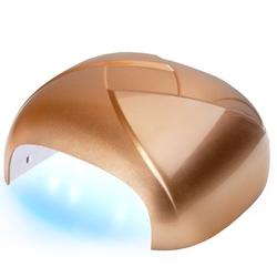 Lampa twister uv dual led 36w timer + sensor złota