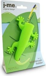 Uchwyt na szczoteczki do zębów larry zielony