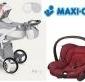 Wózek camarelo pireus 3w1 fotel maxi cosi citi new