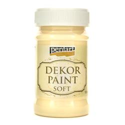 Farba Dekor Paint Soft 100 ml - żółty - ŻÓŁ