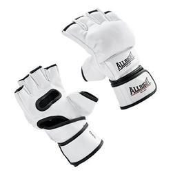 Rękawice mma pro skóra  allright white