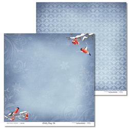 Papier świąteczny Winter song 30,5x30,5 cm - 06 - 06