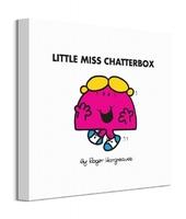 Little miss chatterbox - obraz na płótnie