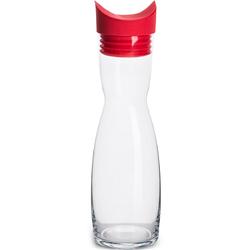 Karafka z silikonową pokrywką 1 Litr Flip Sagaform czerwona SF-5017820