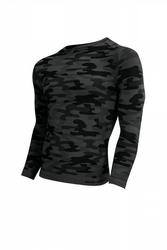 Koszulka męska thermo active military style długi rękaw grafit sesto senso