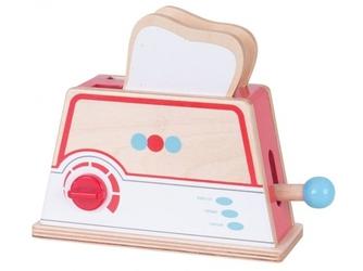 Drewniany toster dla lalek