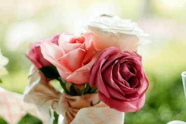 Fototapeta na ścianę romantyczne róże fp 498