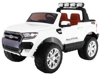 Ford ranger 4x4 facelift biały dwuosobowe auto dla dzieci