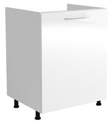 Szafka dolna kuchenna vento pod zlewozmywak 60 cm biała