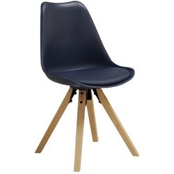 Krzesło skandynawskie hugon granatowe
