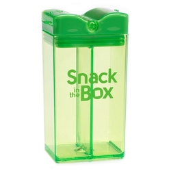 Pojemnik na przekąski 350 ml, zielony, in the box