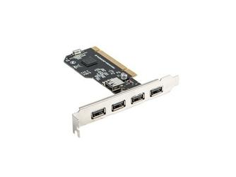 LANBERG Karta PCI - USB 2.0 5-Port