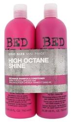 Tigi bed head recharge high octane shampoo kosmetyki damskie - 1500ml 750ml recharge shampoo + 750ml recharge conditioner