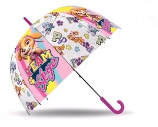 Parasolka psi patrol paw transparentna