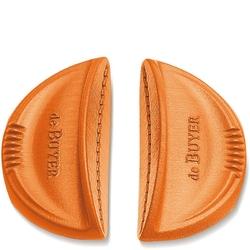 Silikonowe uchwyty do garnków twisty de buyer 2 sztuki, pomarańczowe d-8360-30