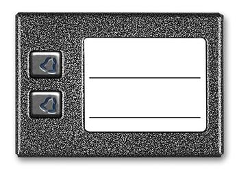 Aco cdn-2np st podświetlany panel listy lokatorów z 2 przyciskami - szybka dostawa lub możliwość odbioru w 39 miastach