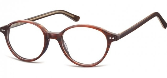 Okulary oprawki okragle sunoptic cp147e