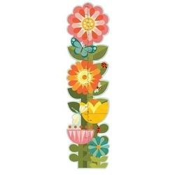 Miarka wzrostu petit collage - ogród kwiatowy