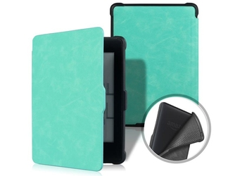Etui alogy smart case kindle paperwhite 123 turkusowe - turkusowy