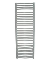 Zestaw: grzejnik łazienkowy york 500x1200 biały + kątowy zawór termostatyczny z zaworem odcinającym