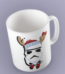 Christmas stroper kubek biały universal