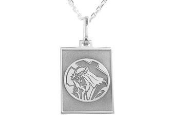 Medalik srebrny z wizerunkiem chrystusa med-6-2d
