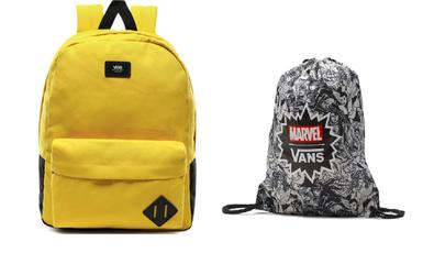 Plecak szkolny Vans Old Skool III - VN0A3I6RD2P + Worek VANS Benched Bag Marvel Woman Black Drawstring - VN0A3RCLBLK - VN000ONIHU0 006